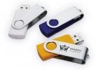 Vrtljivi USB ključki s potiskom