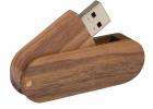 Leseni USB ključek s potiskom